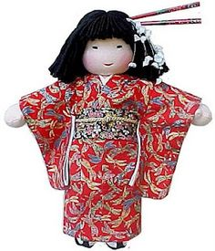 Lovely Japanese Waldorf doll.