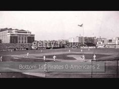 1903 WORLD SERIES, Game 2: Pirates vs Americans/Red Sox ▶️ 1903 World Series, First World Series, Boston Sports, Boston Red Sox, Back In Time, My Happy Place, Pirates, Baseball, Game