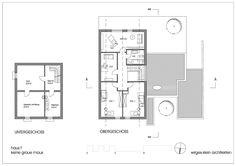 Untergeschoss und Obergeschoss - Haus F- keine graue Maus!