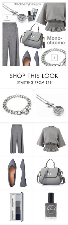 """""""Monochrome"""" by shambala-379 ❤ liked on Polyvore featuring Karen Millen, STELLA McCARTNEY, Gap, Clinique, Lauren B. Beauty and vintage"""