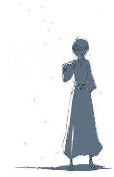 Rukia Kuchiki (朽木 ルキア, Kuchiki Rukia) is the lieutenant of the Division under Captain Jūshirō Ukitake. Rukia is the adoptive sister of Byakuya Kuchiki and a friend of Ichigo Kurosaki. Shinigami, Bleach Ichigo And Rukia, Kuchiki Rukia, Bleach Art, Bleach Manga, Cute Anime Pics, Anime Love, Manga Anime, Anime Art