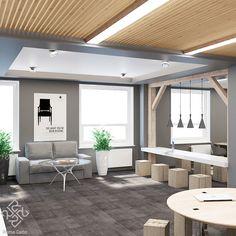 Начинаем обзор нашего дизайн-проекта офисного пространства с зоны общения с клиентами. Современный стиль выражен простыми геометрическими решениями, подчеркивающими функциональное зонирование пространства свободной планировки. Активное использование дерева в сочетании с ахроматической цветовой гаммой создают строгую деловую обстановку, что крайне важно для офисов. #Primogatto_interior_project #primogatto #дизайн #дизайнинтерьеров #interiors #interiordesign #офисы #дизайнофиса Pergola, Outdoor Structures, Architecture, Outdoor Decor, Design, Home Decor, Arquitetura, Decoration Home, Room Decor