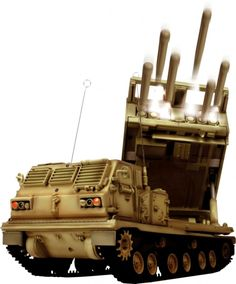 """Radio Controlled 1:24th Scale """"MLRS Multiple Launch Rocket System"""