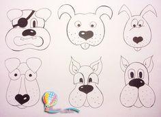 шаблоны собак для аппликации: 11 тыс изображений найдено в Яндекс.Картинках