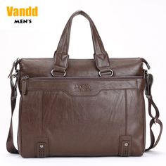 Aliexpress.com : Buy Vandd Men's Brown PU Leather Briefcase Zipper Tote Handbag Business Casual Travel Shoulder Messenger Bag New from Reliable suede messenger bag suppliers on Vandd Men. $57.00