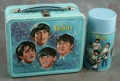 A 1965 Aladdin Beatles Lunchbox. This was my lunchbox when I was in elementary school. Wish I still had it.