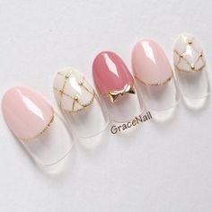 #ジェルネイル #デート #女子会 #ブライダル #ピンク|ネイルデザインを探すならネイル数No.1のネイルブック French Nail Art, French Nail Designs, Simple Nail Art Designs, Easy Nail Art, Elegant Nails, Classy Nails, Simple Nails, French Manicure Nails, Gel Manicure