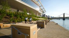 LaQuatra Bonci Associates: Convention Center Riverfront Park