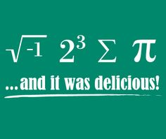 We love nerdy math translations. Can you figure this one out? #math #nerd