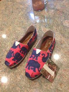 Lilly pulitzer Handpainted toms- tusk in sun