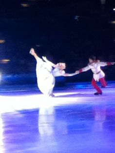 Guess where I got to go last night? Yup! Disney on Ice!! :)