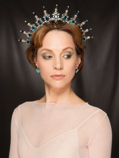 The Anique Filagree Headpiece, $275.00 (http://www.rotationdancewear.com/the-anique-filagree-headpiece/)