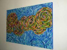 La lana  (50x70) Acrilico