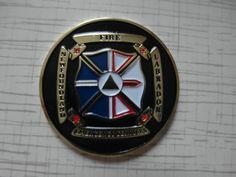 Medal fire Newfoundland and Labrador fire department Canada New # SUPER RARITY #