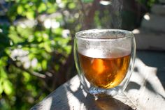 Tea in all of its glory.  I LOVE my cup of tea most mornings...even in the Summertime!