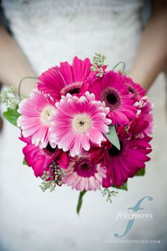 My dream boquet. Gerbera Daisies are my favorite. Photo by Fritz Photography