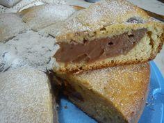 torta alla crema di nua – versione cioccolato