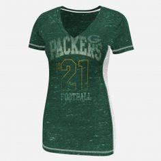 NFL Womens Green Bay Packers 3/4 Sleeve Tshirt