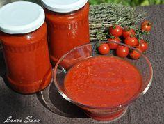 Ketchup picant Tasty, Yummy Food, Kitchen Hacks, Ketchup, Preserves, Pickles, Cantaloupe, Food And Drink, Cooking Recipes