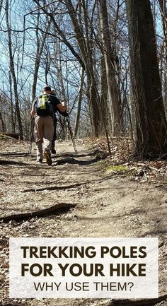 When hiking trails, you may see hikers using hiking poles or walking sticks. For beginners doing local day hikes, backpacking workout training, or multi-day overnight trips, it's almost one of the hiking essentials if your trail has lots of hills, so add it to your packing list as part of your hiking outfit! Tips for design features like aluminum vs carbon and travel-friendly ultralight gear. Learn how to use trekking poles correctly to prevent hiking injuries and knee pain from walking!