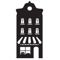 Uitbreiding 'Huisje Bakkerij' Diy Christmas Village, Christmas Diy, Christmas Cards, Xmas, Silhouette Design, Silhouette Cameo, Building Illustration, Silhouette Portrait, Paper Cutting