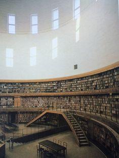 Gunnar Asplund Stockholm Public Library 1928