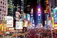 Bright Nights of Times Square