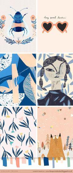 Colour crush...   loveprintstudio   Bloglovin'