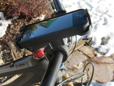 LifeProof iPhone Case and Bike & Bar Mount Review | Mountain Bike Review