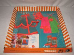 1960's Vintage Mattel Skipper Outfit #1972 Drizzle Sizzle  MIB NRFB  MG113 #ClothingShoes