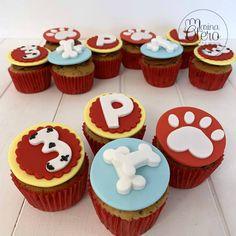 Paw Patrol Cupcakes #marinaoteropasteleria #cupcakes #pawpatrol #pawpatrolparty #patrullacanina Paw Patrol Cupcakes, Paw Patrol Party, Paw Patrol Cups, Paw Patrol Birthday, Rock Climbing Cake, 3rd Birthday Parties, 4th Birthday, Cumple Paw Patrol, Carousel Cake