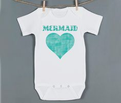 MY baby girl is a mermaid at heart like I was when I was little (no seriously... I was OBSESSED with the little mermaid). Perfect for my lil' sea princess!