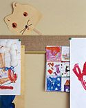 Picture Rail - Martha Stewart DIY Decorating- Kids' Organized Space