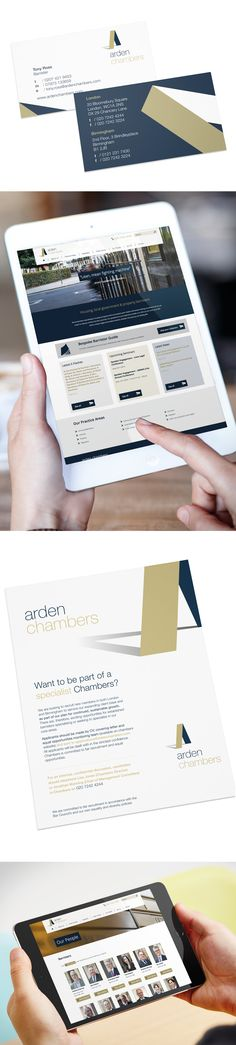 Arden Chambers - Stationary, Advertising and Website Project Arden Chambers are a specialist set of chambers with absolute focus on the housing, local government and property sectors. Case Study, Stationary, Advertising, Website, Creative, Projects, Log Projects, Blue Prints