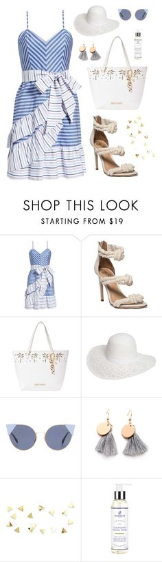 """Sur la plage"" by shangalairina ❤ liked on Polyvore featuring Parker, Betsey Johnson, Dorothy Perkins, Fendi and Murdock London"