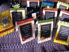 Teacher Appreciation Bookmarks