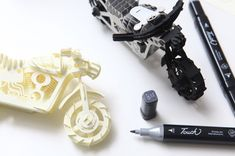 Remarkably Detailed Paper-Craft Models by Papero.