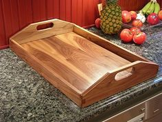 Serving Tray - by slaphitter @ LumberJocks.com ~ woodworking community