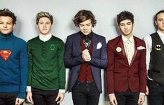 One Direction wearing there favorite superheroes!!!! Hell yea!!!