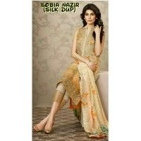Sobia Nazir 01 Chiffon Embrodiered Master Replica(Unstitched)
