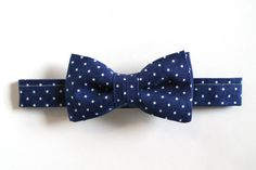 Baby Boy Toddler Boys Bow Tie  Navy and White by TheSplendidBow, $12.50