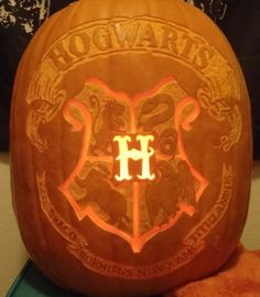 Omg. My pumpkin next year! I just need to remember... And get a stencil.