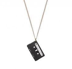 Retro To Go: New Tatty Devine record player and boombox necklaces
