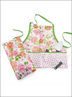 Rose Garden Set free sewing pattern of the day from freepatterns.com 9/26/13