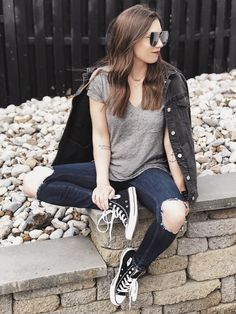 1da19bfab3a 30 Best High top converse Outfits images