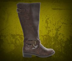 S Soda Casual Brown Riding Boots At Shoe Carnival Shoecarnival