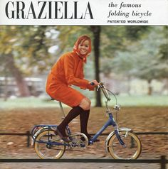 Graziella The Famous Folding Bicycle Patented Woldwide