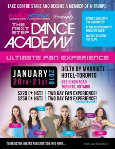The Next Step Dance Academy Poster Dance Academy, The Next Step, Competition, How To Become, Sport, Learning, Poster, Deporte, Sports