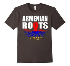 Armenian Roots Armenia Gift Pride Flag T-Shirt | One of the largest and best collection of Mother's day style sayings and graphic tee shirts anywhere on the web. The great gift for your mom or wife. More styles daily updated!