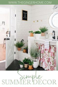 Diy Custom Closet, Custom Closet Design, Apartment Needs, Small Entryways, Wooden Stools, Modern Farmhouse Decor, Terracotta Pots, Plant Decor, Porch Decorating